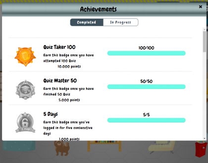 🏆Achievements & Badges of iChineseReader🏅